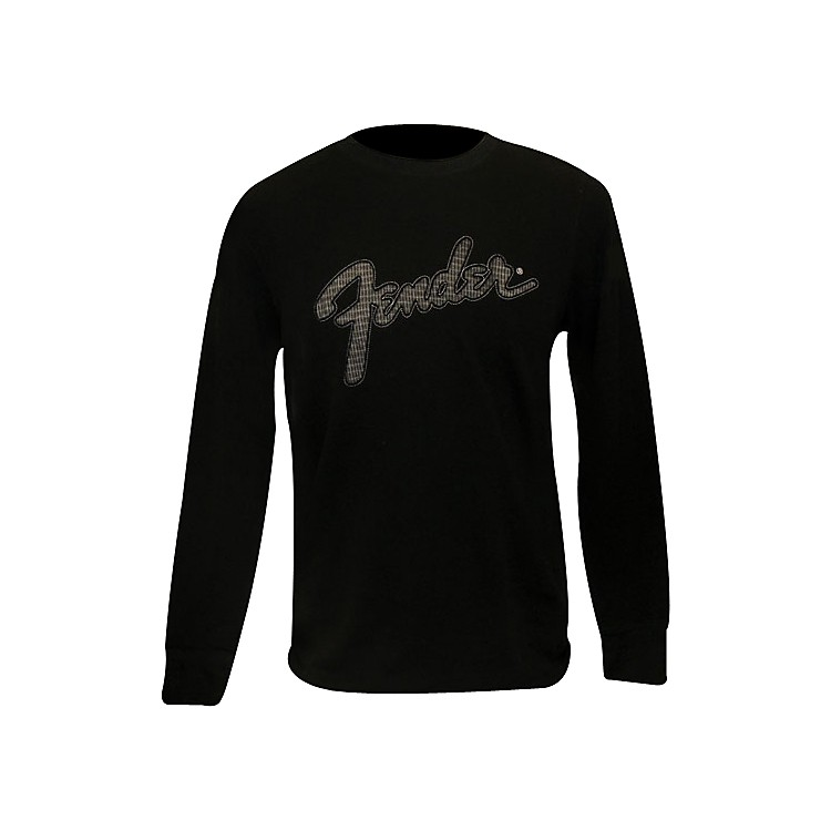Fender Amp Screen Thermal Shirt Black Small