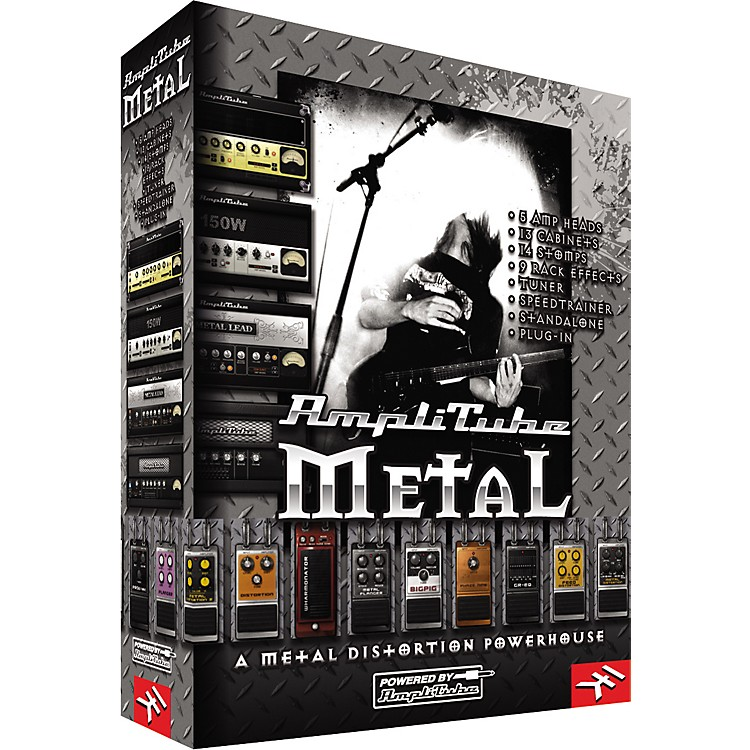IK Multimedia AmpliTube Metal Amp and Stompbox Modeling Software