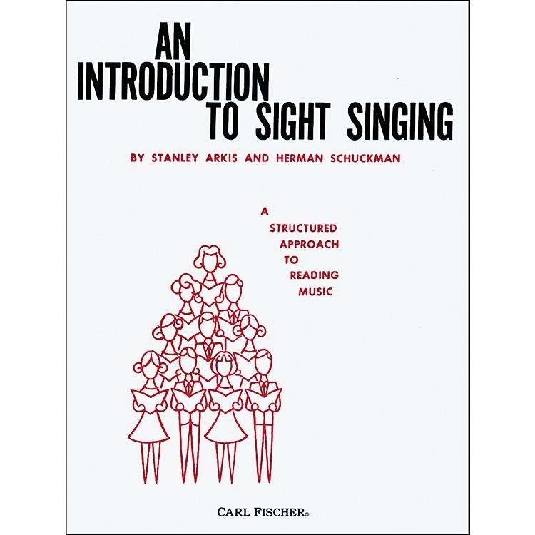 Carl FischerAn Introduction To Sight Singing