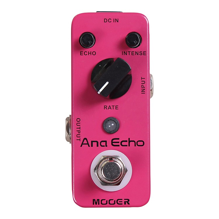 Mooer Ana Echo Analog Delay Guitar Effects Pedal