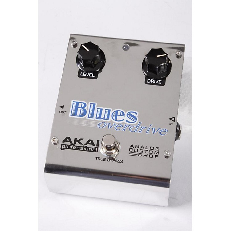 Akai Professional Analog Custom Shop Blues Overdrive Guitar Effects Pedal Regular 886830695780