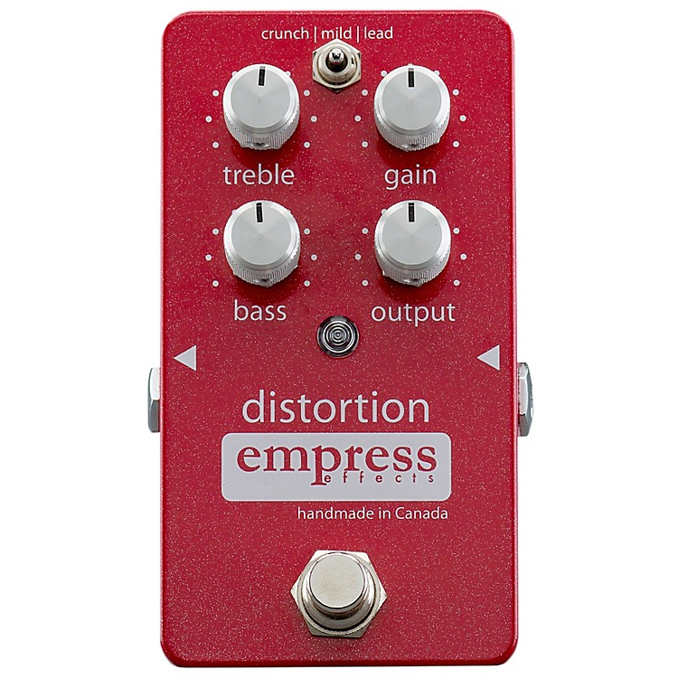 Empress EffectsAnalog Distortion Guitar Effects Pedal