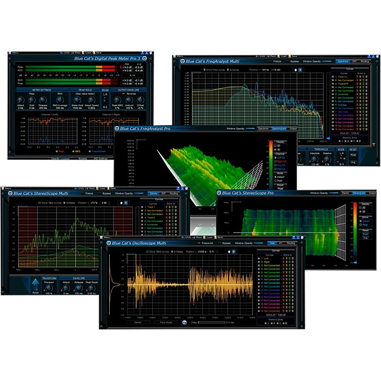 Blue Cat Audio Analysis Plug-in Pack Software Download