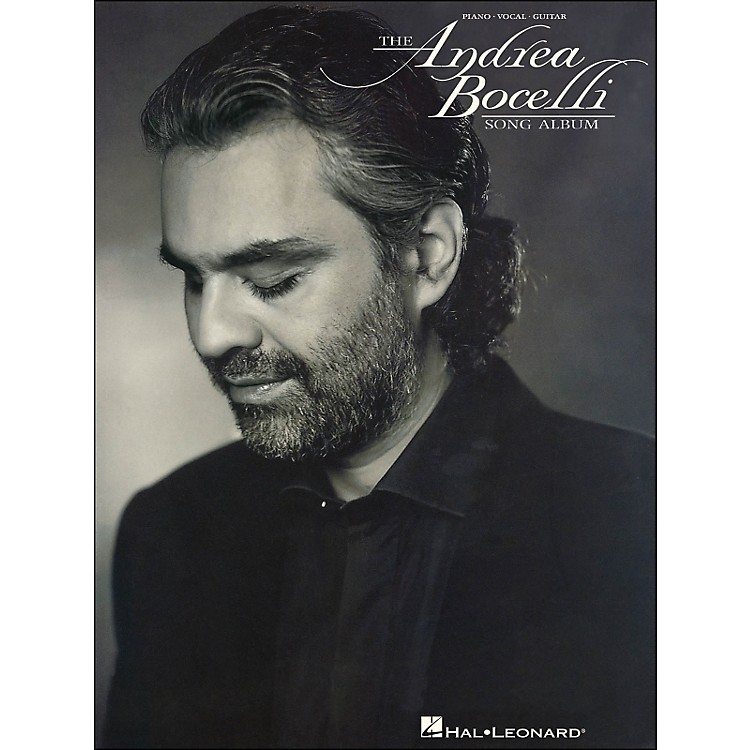 Hal Leonard Andrea Bocelli Song Album arranged for piano, vocal, and guitar (P/V/G)