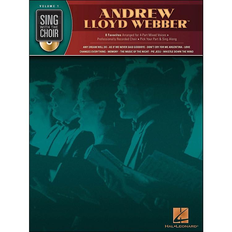 Hal LeonardAndrew Lloyd Webber - Sing with The Choir Series Vol. 1 Book/CD