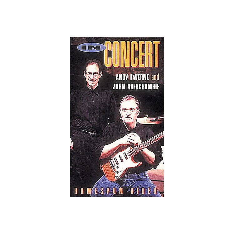 Homespun Andy LaVerne and John Abercrombie in Concert (VHS)