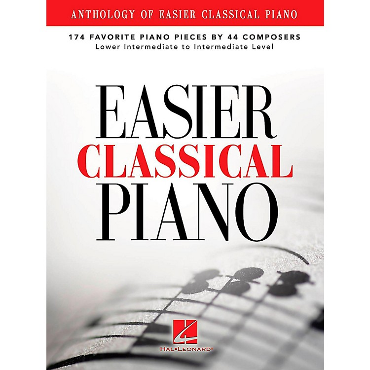 Hal Leonard Anthology Of Easier Classical Piano - 174 Favorite Pieces By 44 Composers