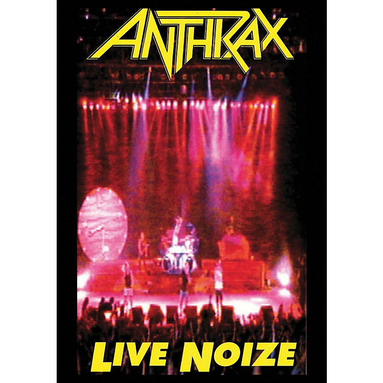 Hal Leonard Anthrax Live Noize DVD 1991 Concert with Public Enemy DVD