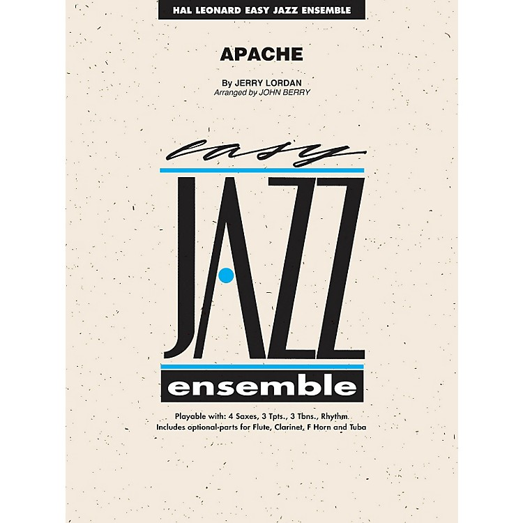 Hal LeonardApache - Easy Jazz Ensemble Series Level 2