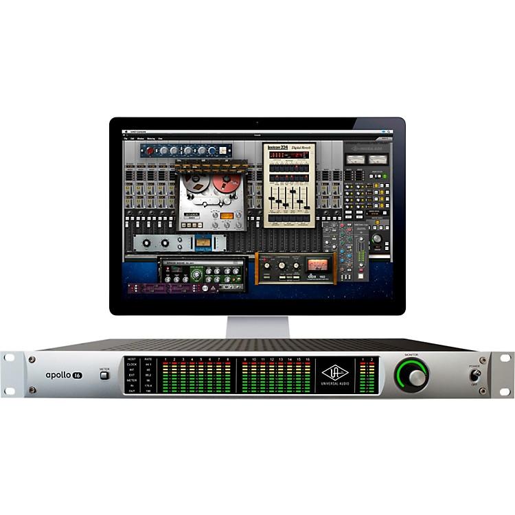 Universal AudioApollo 16 Analog I/O FireWire Interface w/ UAD-2 QUAD DSP