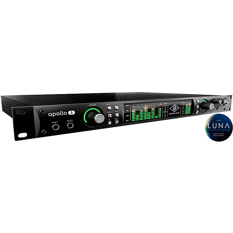 Universal AudioApollo 8 Thunderbolt Audio Interface with Quad Processing