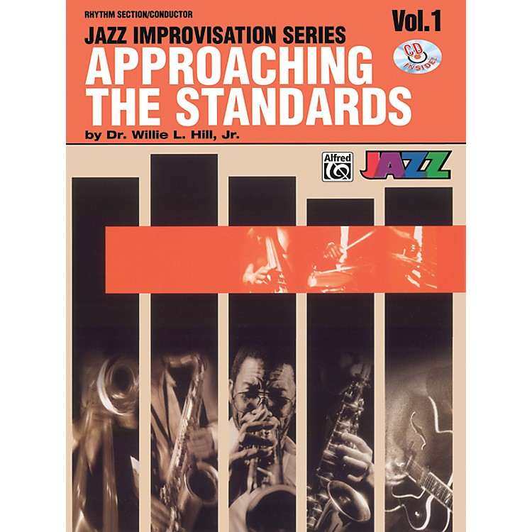 Alfred Approaching the Standards Volume 1 Rhythm Section / Conductor Book & CD