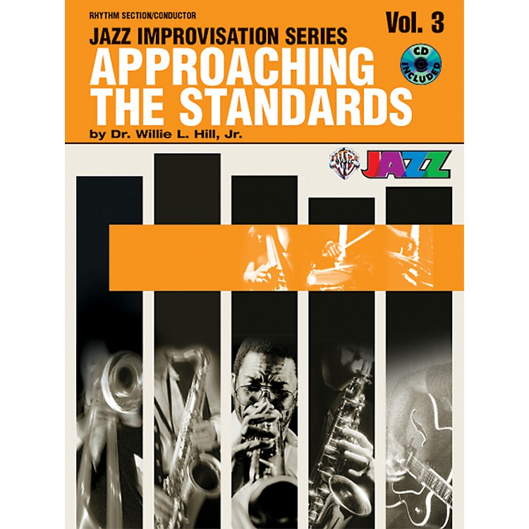 Alfred Approaching the Standards Volume 3 Rhythm Section / Conductor Book & CD