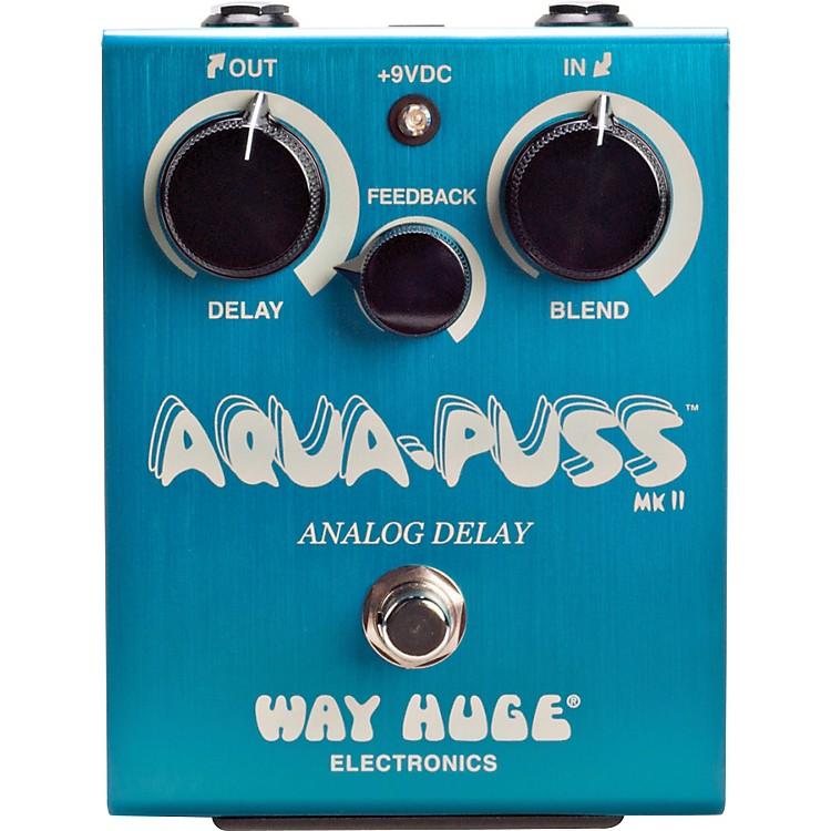 Way Huge ElectronicsAqua-Puss MkII Analog Delay Guitar Effects Pedal