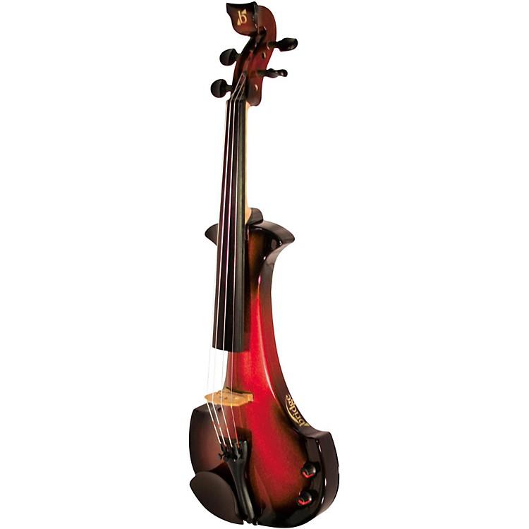 BridgeAquila Series 4-String Electric ViolinBlack-Red