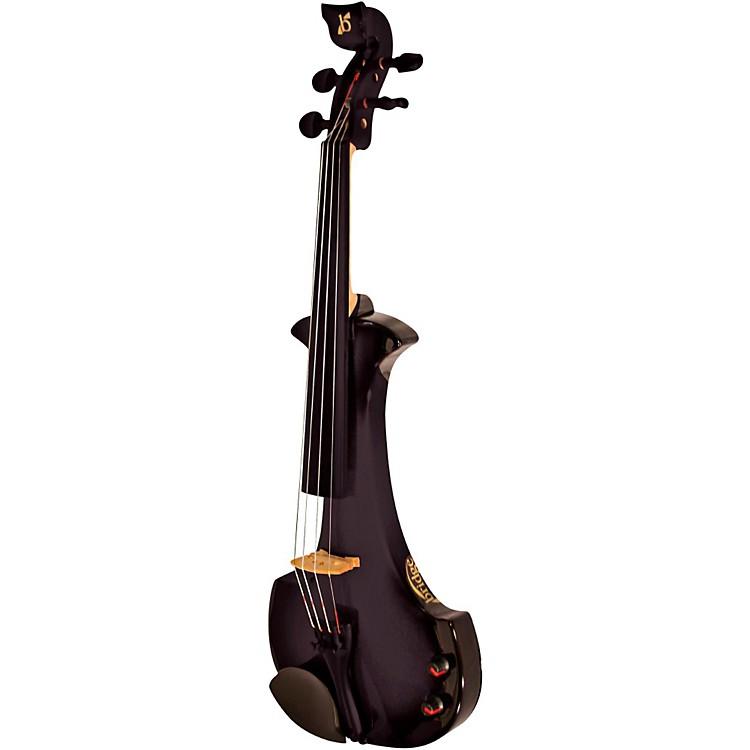 BridgeAquila Series 4-String Electric ViolinBlack