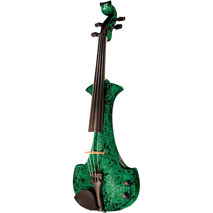 Bridge Aquila Series 4-String Electric Violin Green Marble