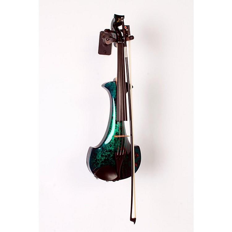 BridgeAquila Series 4-String Electric ViolinGreen Marble888365797427