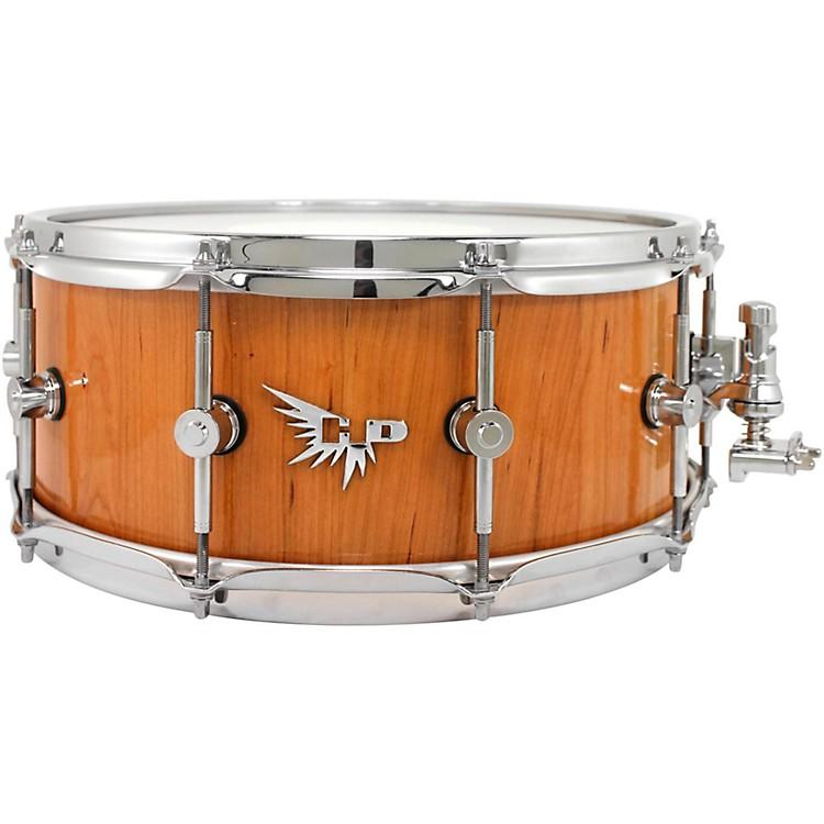 Hendrix DrumsArchetype Series American Black Cherry Stave Snare Drum14 x 6 in.Mirror Gloss Finish