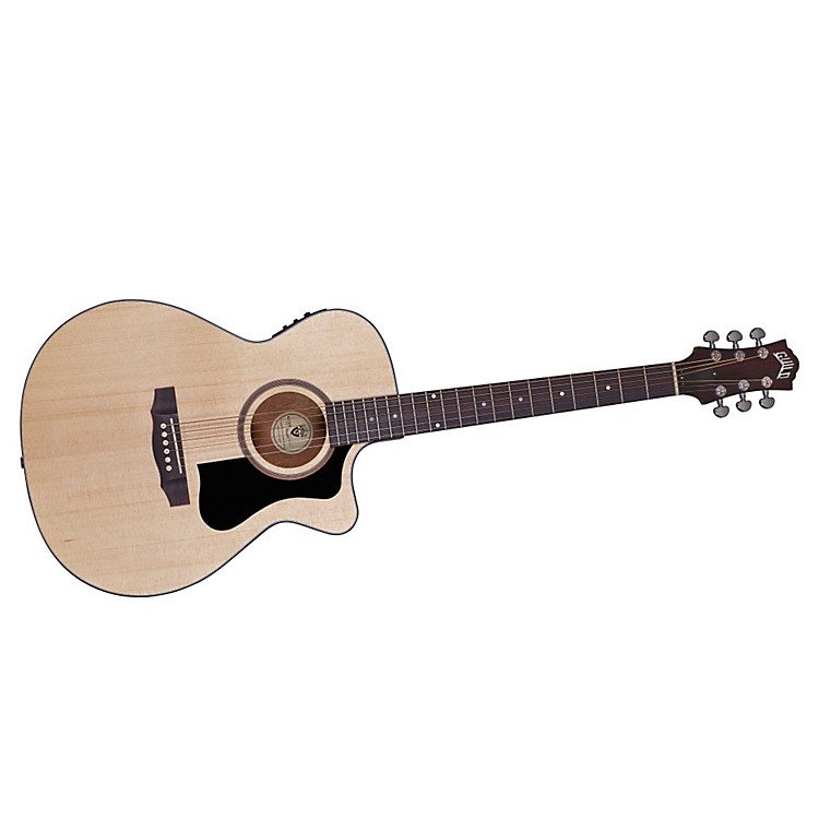 Guild Arcos Series AO-3CE Mahogany Orchestra Acoustic-Electric Cutaway Guitar