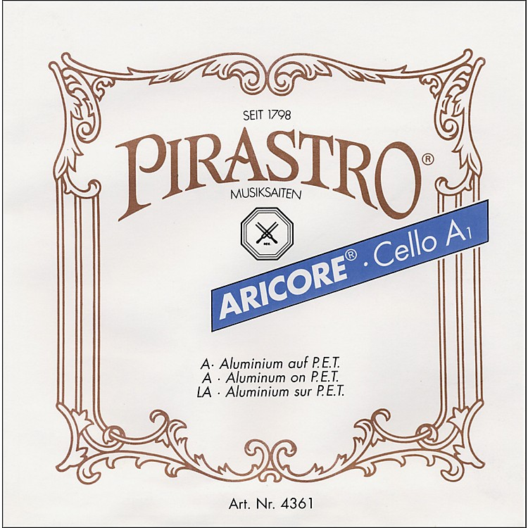 PirastroAricore Series Cello A String4/4 Chrome Steel