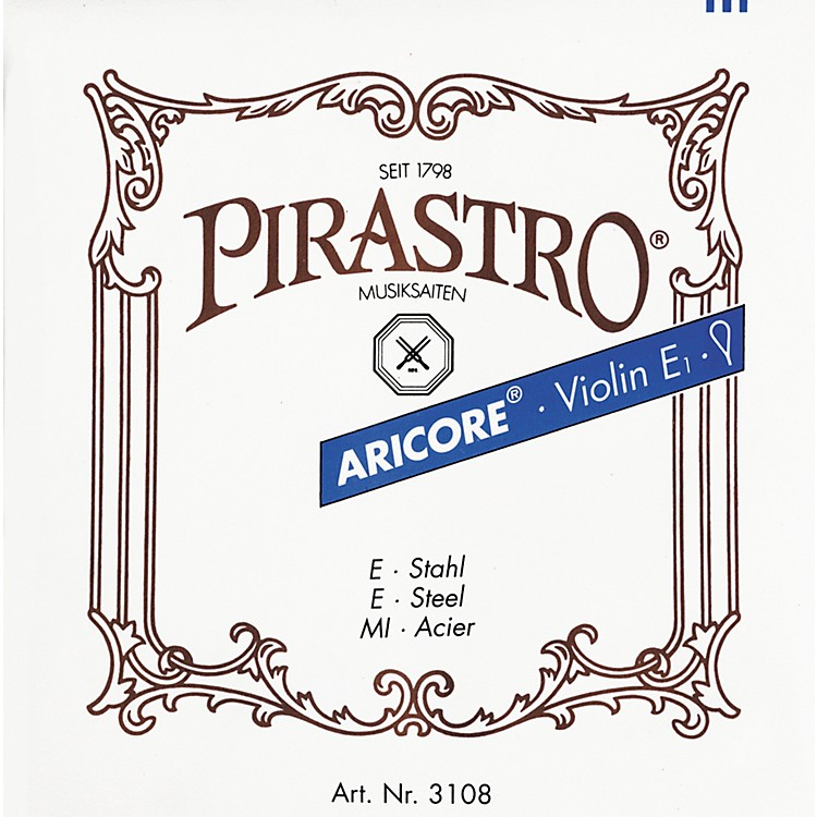 Pirastro Aricore Series Violin E String 4/4 Ball End Steel