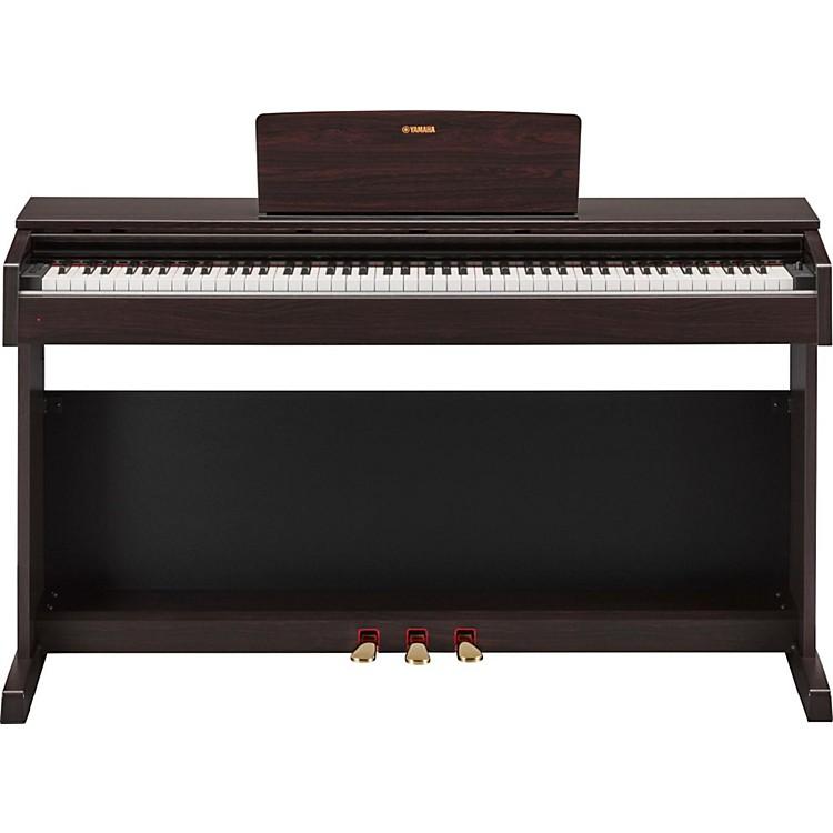 YamahaArius YDP-143 88-Key Digital Console Piano with BenchDark Rosewood