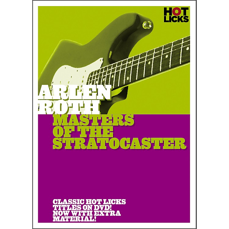 Hot LicksArlen Roth: Masters of the Stratocaster DVD