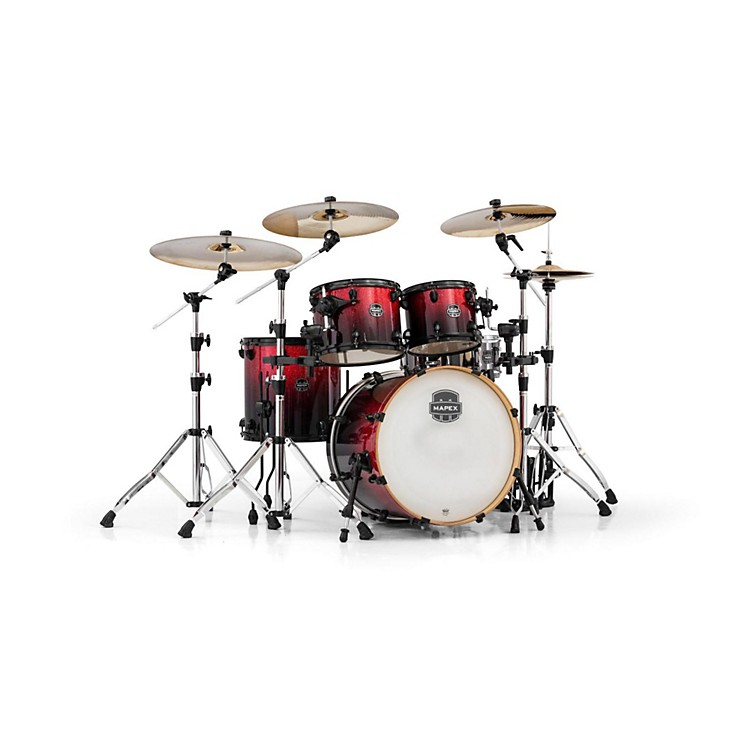 MapexArmory Series 5-Piece Jazz/Rock Shell PackMagna Red