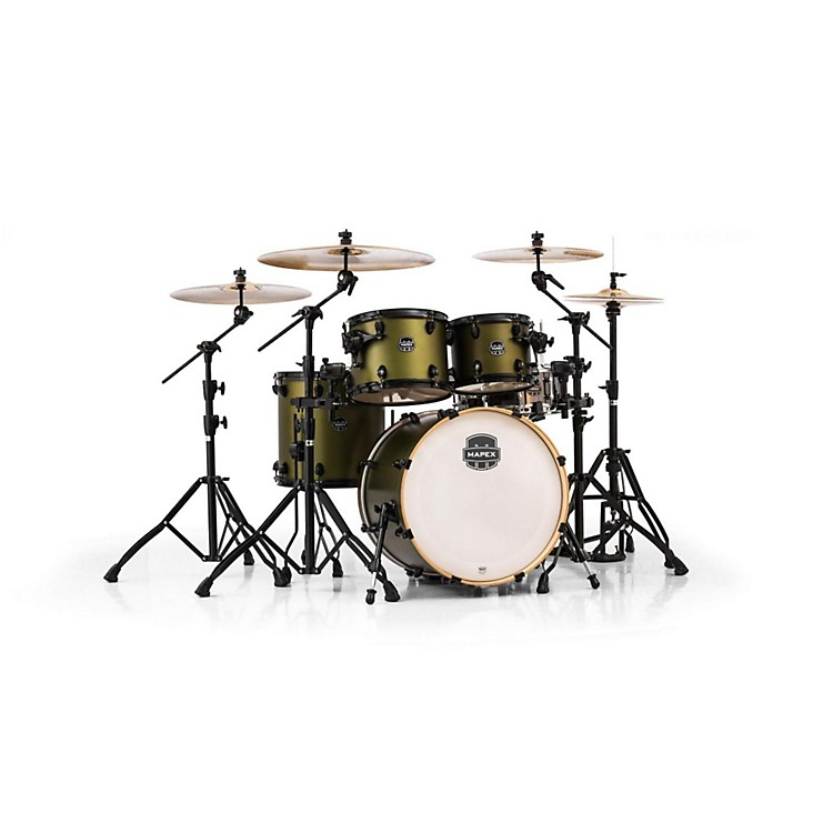 Mapex Armory Series 5-Piece Jazz/Rock Shell Pack Mantis Green