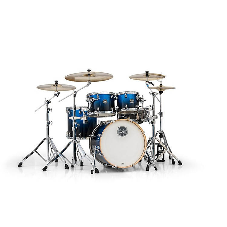 Mapex Armory Series 5-Piece Jazz/Rock Shell Pack Photon Blue