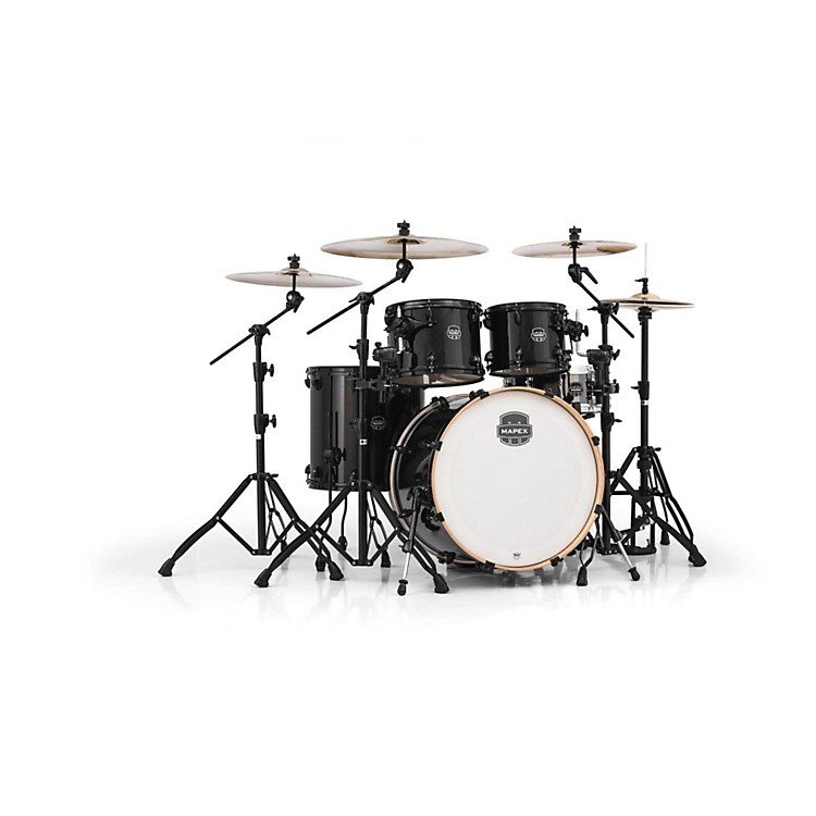 Mapex Armory Series 5-Piece Rock Shell Pack Transparent Black