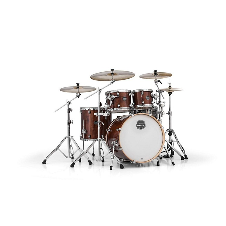 Mapex Armory Series 5-Piece Rock Shell Pack Transparent Walnut