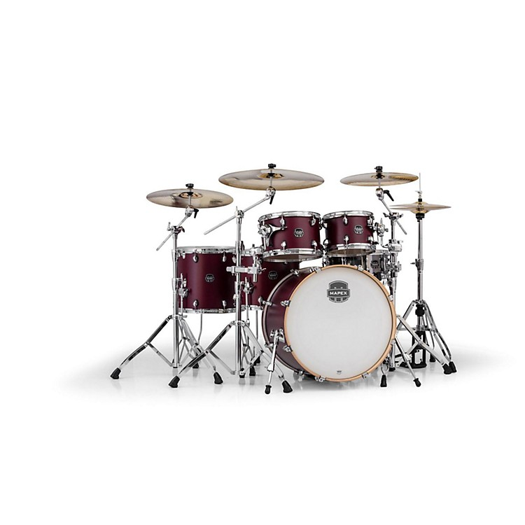 Mapex Armory Series 6-Piece Studioease Shell Pack Fast Toms Cordovan Red