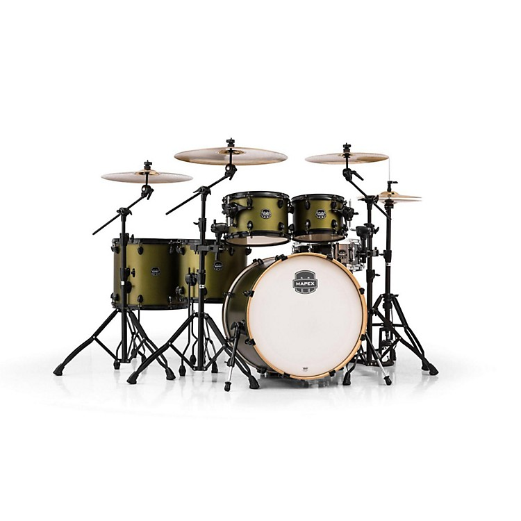 Mapex Armory Series 6-Piece Studioease Shell Pack Fast Toms Mantis Green