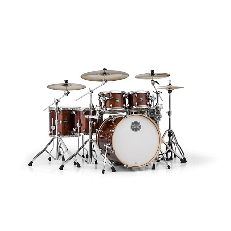 MapexArmory Series 6-Piece Studioease Shell Pack Fast TomsTransparent Walnut
