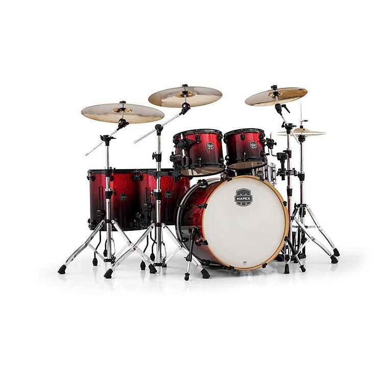 MapexArmory Series 6-Piece Studioease Shell PackMagna Red