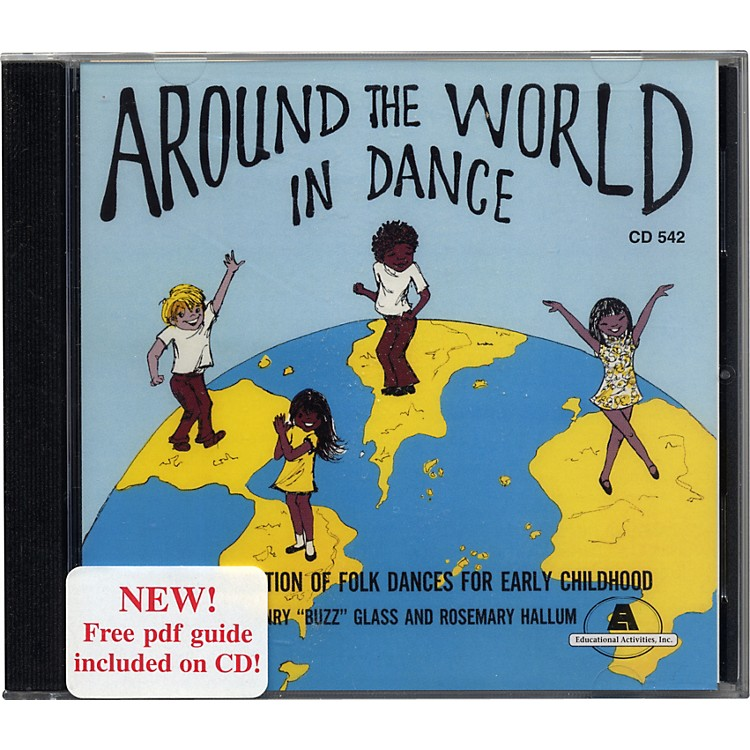 Educational Activities Around The World In Dance Cd