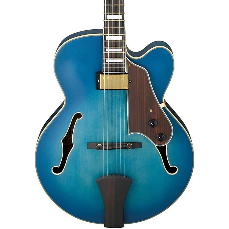 IbanezArtcore Expressionist AFJ91 Hollowbody Electric GuitarFlat Jet Blue BurstRosewood Fretboard