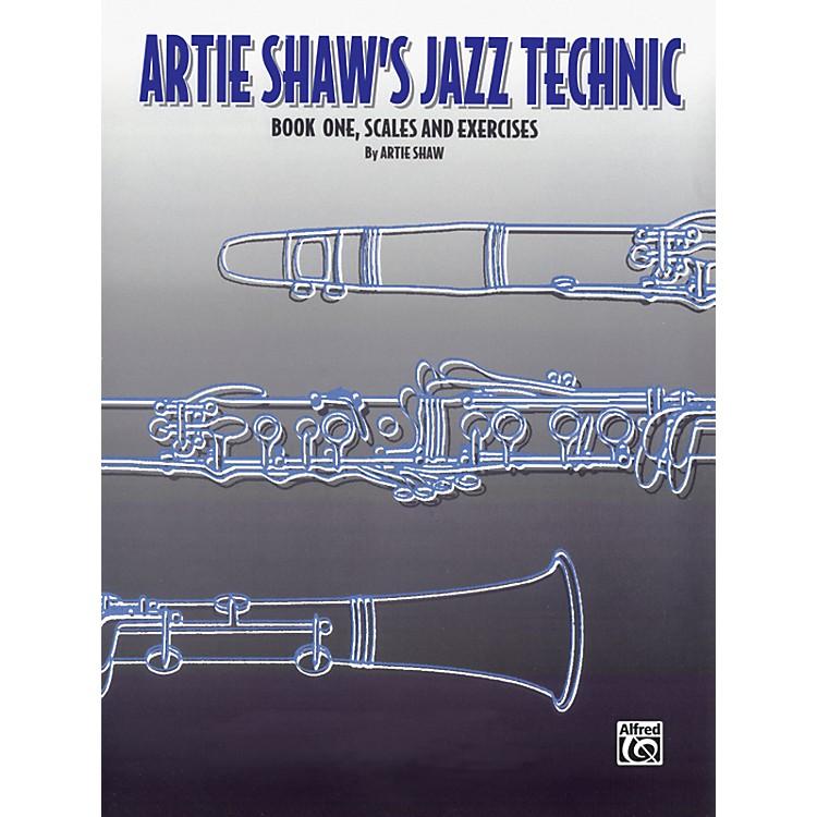 AlfredArtie Shaw's Jazz Technic Clarinet, Book 1
