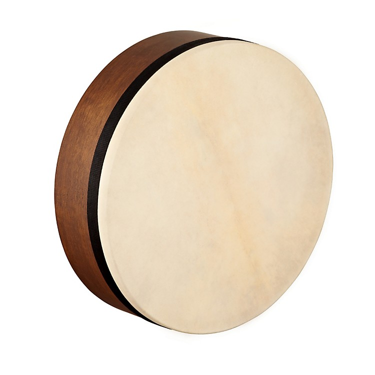 Meinl Artisan Edition Mizhar Goatskin Head Walnut Brown 14 x 4 in.