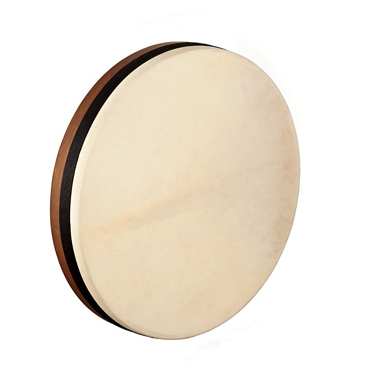 Meinl Artisan Edition Tar Goatskin Head Walnut Brown 14 x 2.5 in.