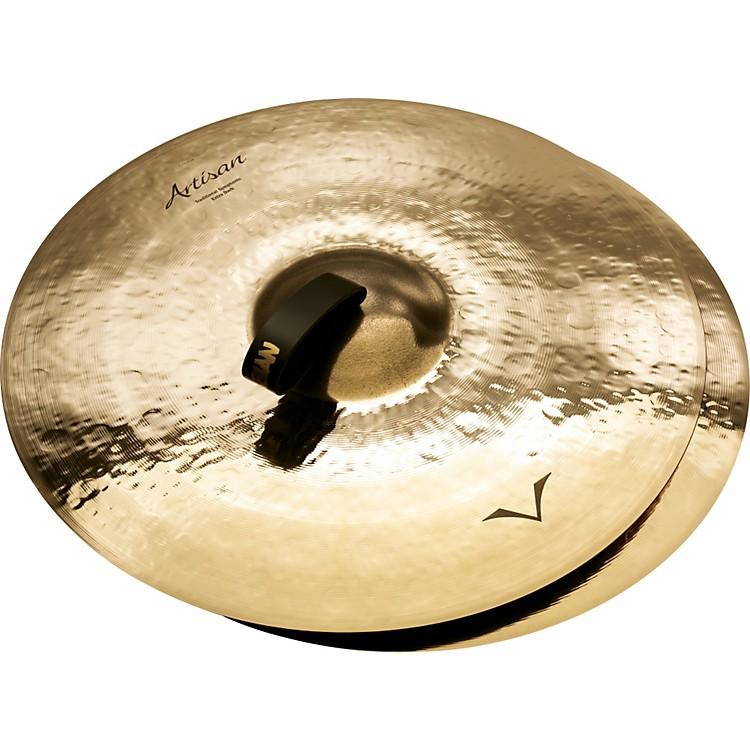 SabianArtisan Traditional Symphonic Extra Dark Medium Crash - Brilliant