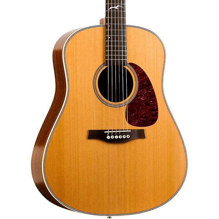 Seagull Artist Mosaic Element Acoustic-Electric Guitar Natural