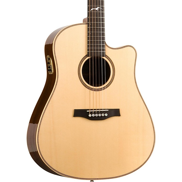 Seagull Artist Peppino Signature QII Cutaway Acoustic-Electric Guitar Natural