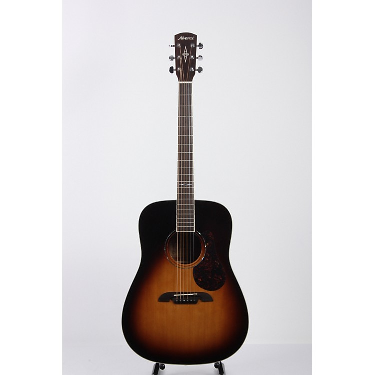 Alvarez Artist Series AD60 Dreadnought  Acoustic Guitar Sunburst 886830607073