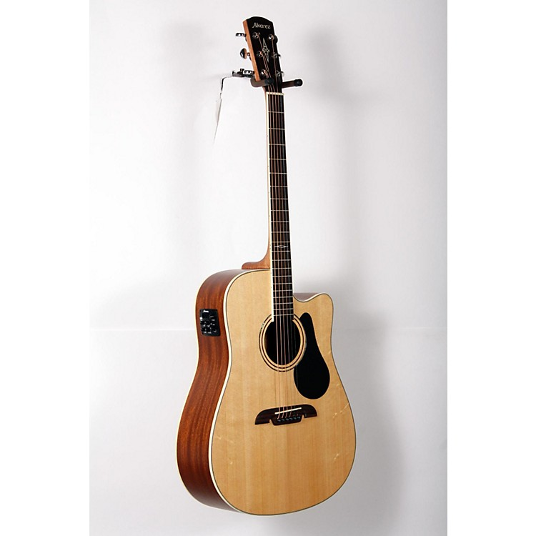 Alvarez Artist Series AD60CE Dreadnought Acoustic-Electric Guitar Natural 888365831770