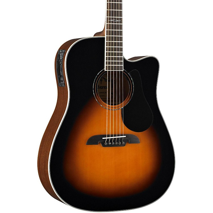 Alvarez Artist Series AD60CE Dreadnought Acoustic-Electric Guitar Sunburst