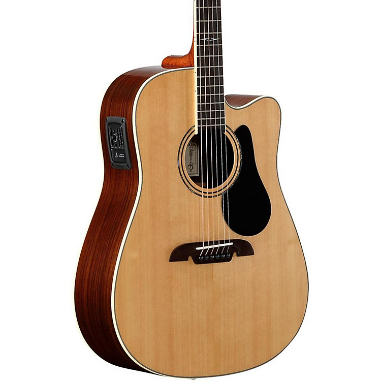 Alvarez Artist Series AD70CE Dreadnought Acoustic-Electric Guitar Natural