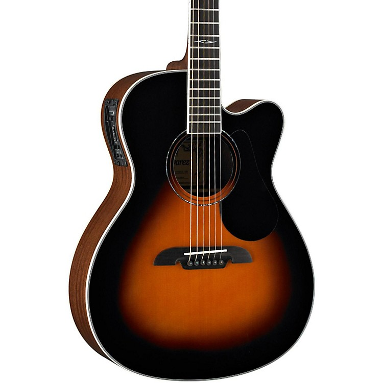 AlvarezArtist Series AF60CE Folk Acoustic-Electric GuitarSunburst
